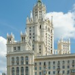 Kotelnicheskaya Embankment Building (1952), Moscow, Russia — Stock Photo #44378451