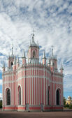 Chesme Church, Saint Petersburg, Russia, back elevation — Stock Photo