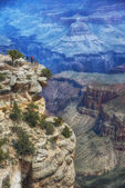 Powell Point, Grand Canyon, South Rim — Stock Photo