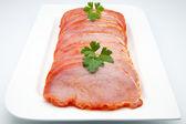 Fillets of pork tenderloin — Stock Photo