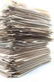 Piled up documents — Stock Photo