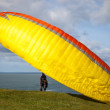 Paragliding sport — Stock Photo #19825211