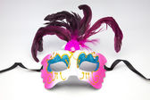 Decorative venetian carnival mask — Stock Photo