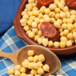 Stew of chick-peas  — Stock Photo