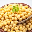 Casserole of chick-peas — Stock Photo