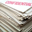 Confidential documents — Stock Photo