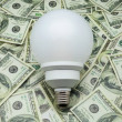 Bulb of low consumption — Stock Photo #25305977
