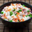 Rice bowl — Stock Photo