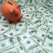 Piglet moneybox — Stock Photo