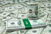 Hundred American dollars — Stock Photo