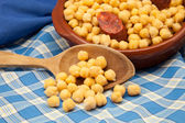 Chick-peas casserole — Stock Photo