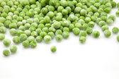 Zmrazený zelený hrášek — Stock fotografie