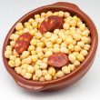 Stock Photo: Chickpeas cooked