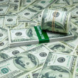 Stack of  Dollar — Stock Photo