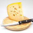 Emmental cheese — Foto Stock