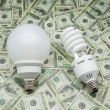 Low consumption bulbs — Stock Photo #31166823