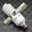 fluorescent bulb — Stock Photo
