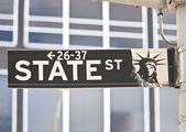 Straten van new york — Stockfoto