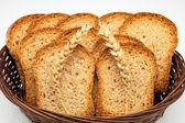 Toast basket — Stock Photo