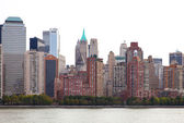 Buildings of New York — 图库照片
