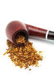 Tobacco-pipe with tobacco — Stock Photo