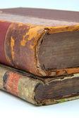 Iki eski kitaplar — Stok fotoğraf