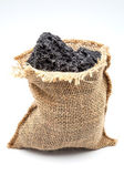 Bag of charcoal — Stock Photo