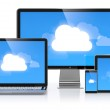 Cloud computing — Stock Photo #12569915