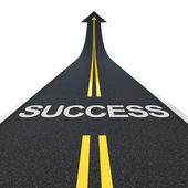 Success road — Stock Photo