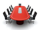 Conference table. — Stockfoto