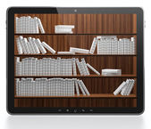 Digital library — Stock Photo