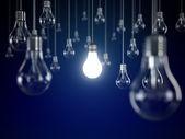 Bombilla de luz — Foto de Stock