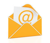 E-mail envelope — Stock Photo