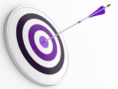 Dart and target — Stock Photo