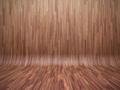 Bent parquet — Stock Photo
