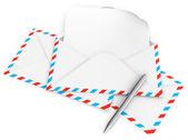 Koperta list — Zdjęcie stockowe