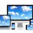 Cloud computing — Stock Photo #18974827