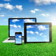 Cloud computing — Stock Photo #19137003