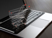 Electronic commerce — Foto Stock