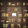 Stock Photo: Library