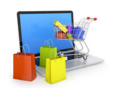 Electronic commerce — Stock Photo