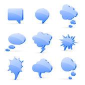 Speech bubbles — Vecteur
