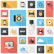 Technology and media icons — Stock Vector #36961813