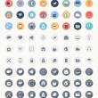 Universal flat icons — Stock Vector #39327577