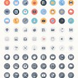 Universal flat icons — Stock Vector #39327583