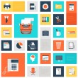 Office icons — Stock Vector #49921507