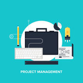 Project management — Wektor stockowy