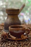 シナモン、アニス、コーヒー豆 — ストック写真