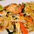 Stock Photo: Pad Thai with shrimp