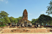 Wat ratchaburana — Photo